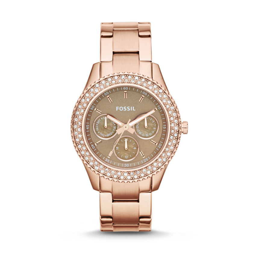 Fossil Watches For Women Rose Gold Womens Rose Steel Watch