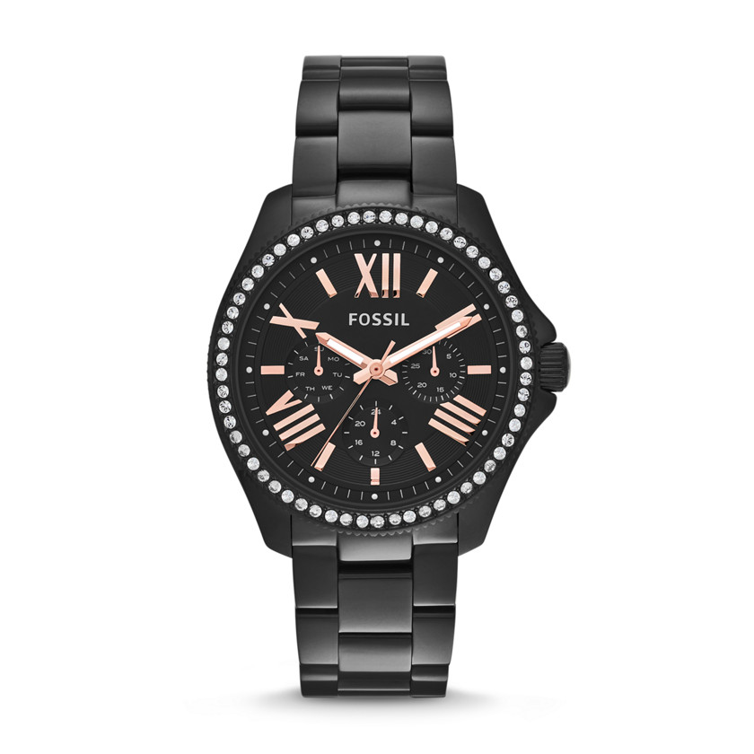 fossil s cecile multifunction stainless steel