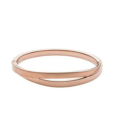 Elin RoseGoldTone Bangle Bracelet SKAGEN Free Shipping