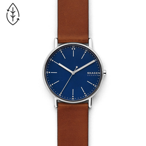 dial blue with men s dp display leather strap chronograph watches watch smith quartz and paul